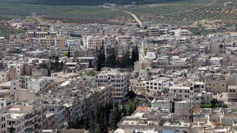 De stad Ahira in Idlib, Syrië. Beeld anp
