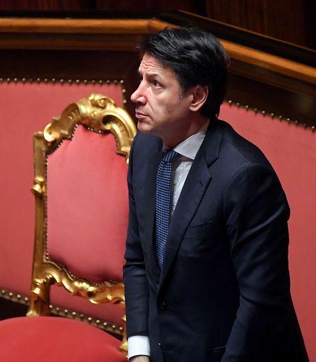 'Premier Conte groeit de laatste weken uit tot een soort corona-Churchill'