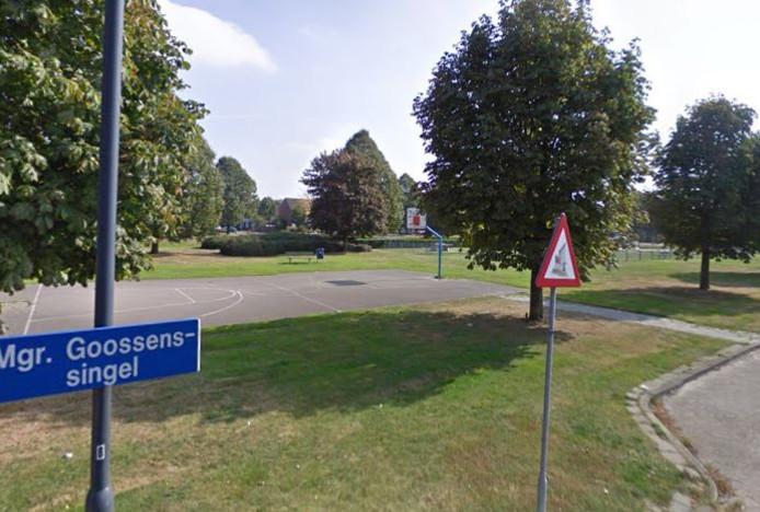 De gemeente Vught heeft de basketpalen aan de Mgr. Goossenssingel weggehaald omdat ze gedateerd zijn en vanwege de veiligheid moeten worden vervangen.