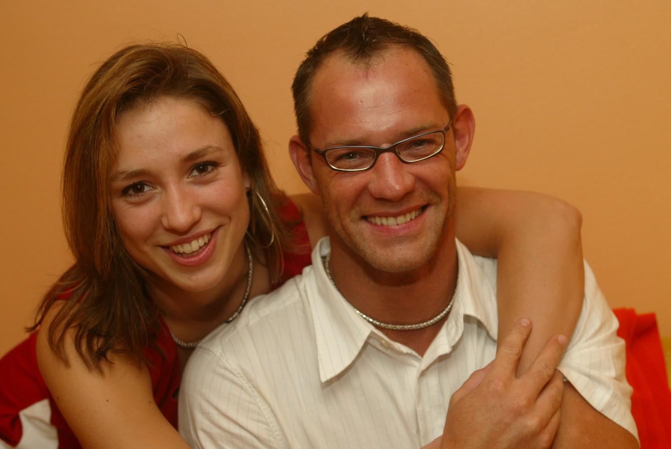 Natalia en Koen in 2003.