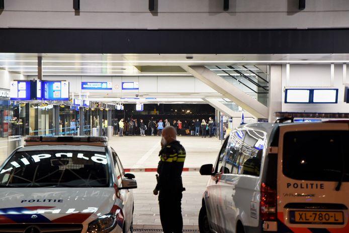 Verdacht voorwerp gevonden op Station Tilburg