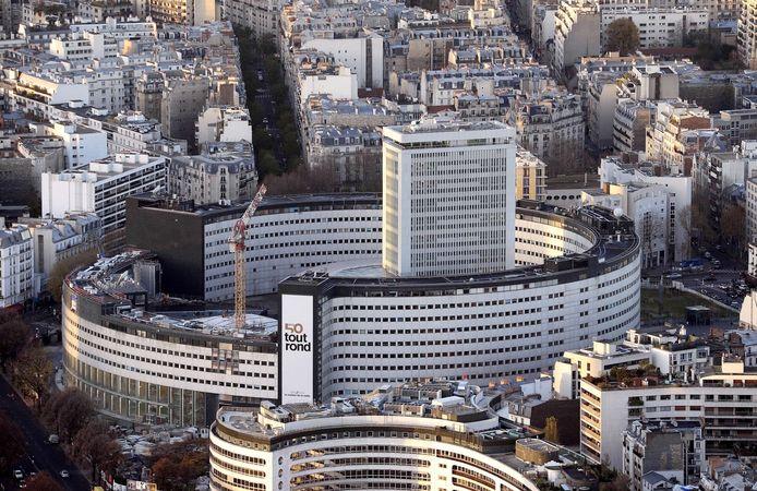 La Maison de la Radio à Paris, siège de Radio France.