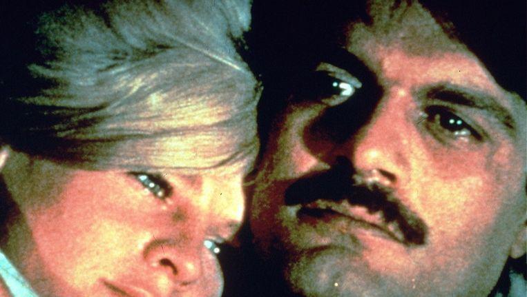 Omar Sharif en Julie Christie in Doctor Zhivago Beeld anp