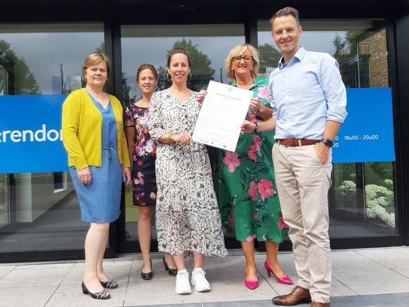 Het gemeentebestuur ondertekende het charter 'Gezonde Gemeente'