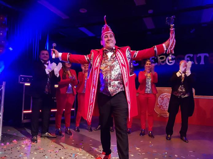 Marco Beers is de nieuwe prins in Berg en Dal