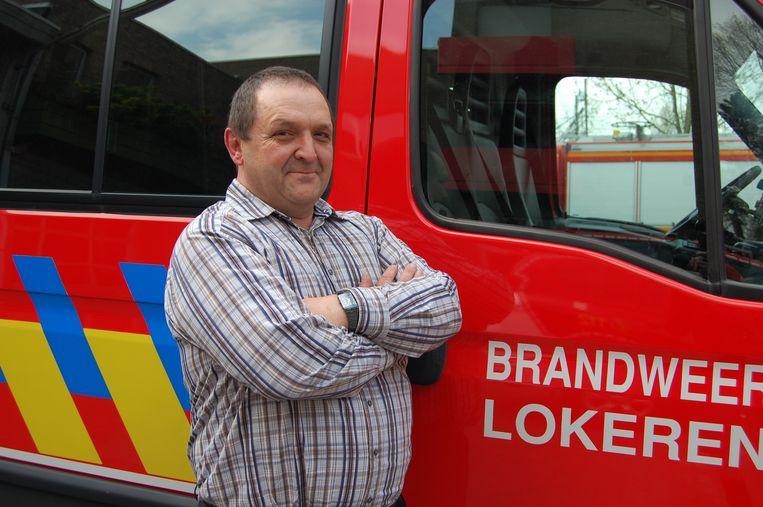 Majoor Luc Van de Vyver raakte in 2004 zwaargewond bij een gasexplosie
