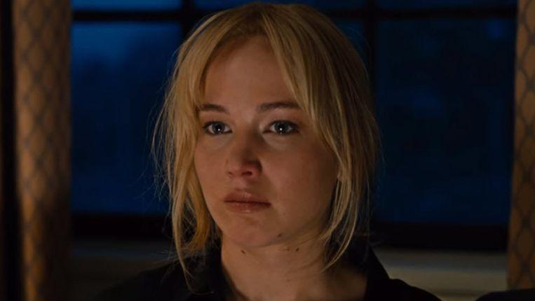 Oscargenomineerde Jennifer Lawrence in Joy. Beeld