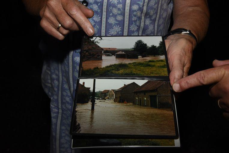 Wolkbreuk op de grens van Loonbeek en Neerijse, overstroming van 1986