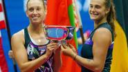 """Mertens kijkt dubbelpartner Sabalenka in de ogen: """"Ze is in vorm en dan is ze moeilijk te verslaan"""""""