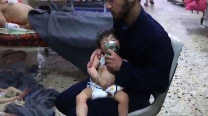 Wie liegt over gifgasaanval Douma?