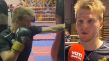 """Twee maanden geleden was hij nog profcoureur, nu waagt Zico Waeytens het als bokser: """"Echt wel ambitie om goed te worden"""""""