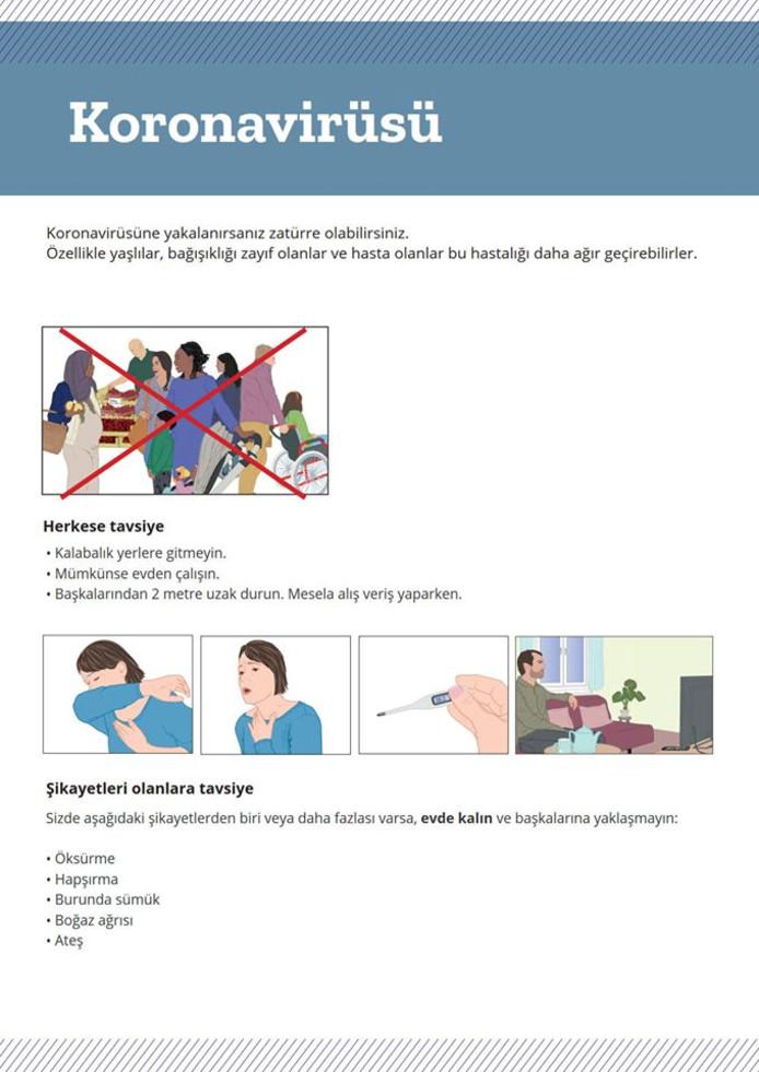 Digitale informatie voor Lossernaren die Turks spreken.