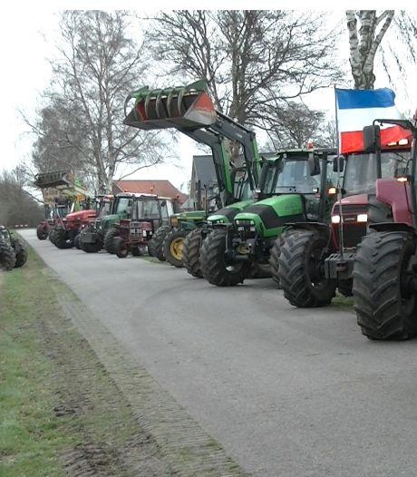 Boeren op trekkers naar Arnhem in strijd voor hogere straffen dierenactivisten