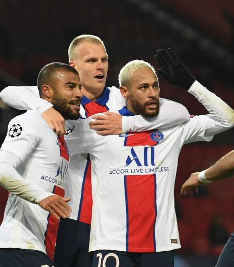 Paris Saint-Germain wint bij Manchester United na fout van Solskjaer