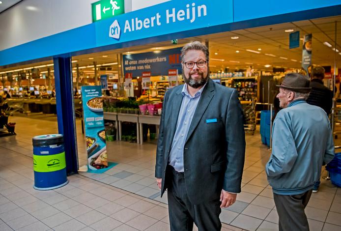 De Albert Heijn in winkelcentrum Ridderhof gaat later dit jaar dicht.