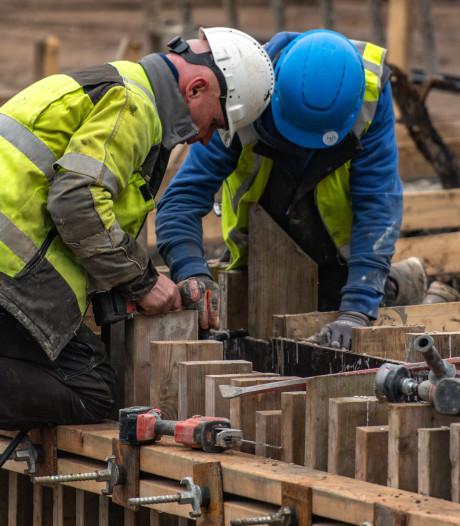 Aantal afgegeven vergunningen voor nieuwbouwwoningen fors gedaald