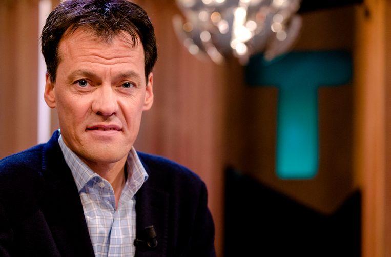 EO-presentator Tijs van den Brink. Beeld ANP