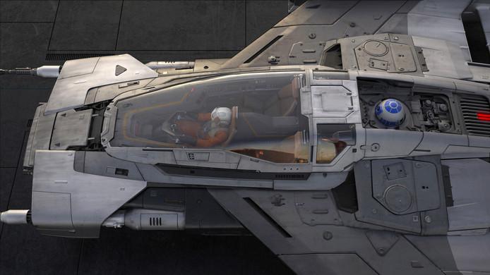 Het ruimteschip dat Porsche voor Star Wars ontwierp