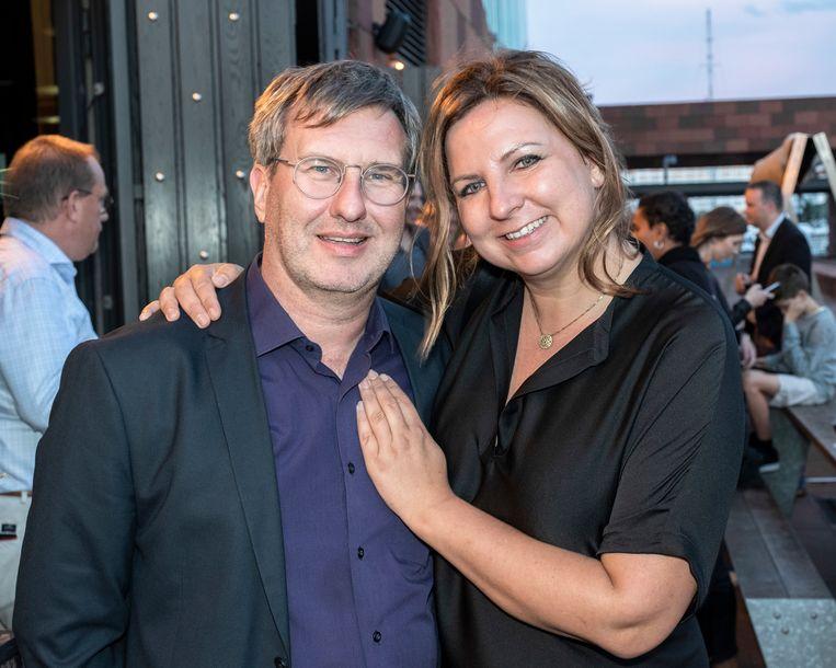 Jan Verheyen en Lien Willaert werken samen aan 'Red Sara'.