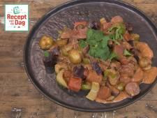 Recept van de dag: Beefcurry met kleurwortels en krieltjes
