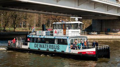 Waterbus steeds populairder: 4.000 mensen maakten oversteek in maart