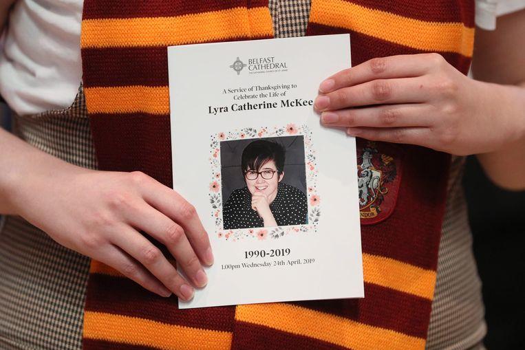 Lyra McKee werd vorig jaar in april doodgeschoten toen ze verslag deed van een rel in Belfast.