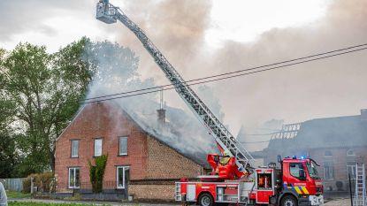 Twee woningen onbewoonbaar na hevige brand in Herne: brandweerman raakt lichtgewond