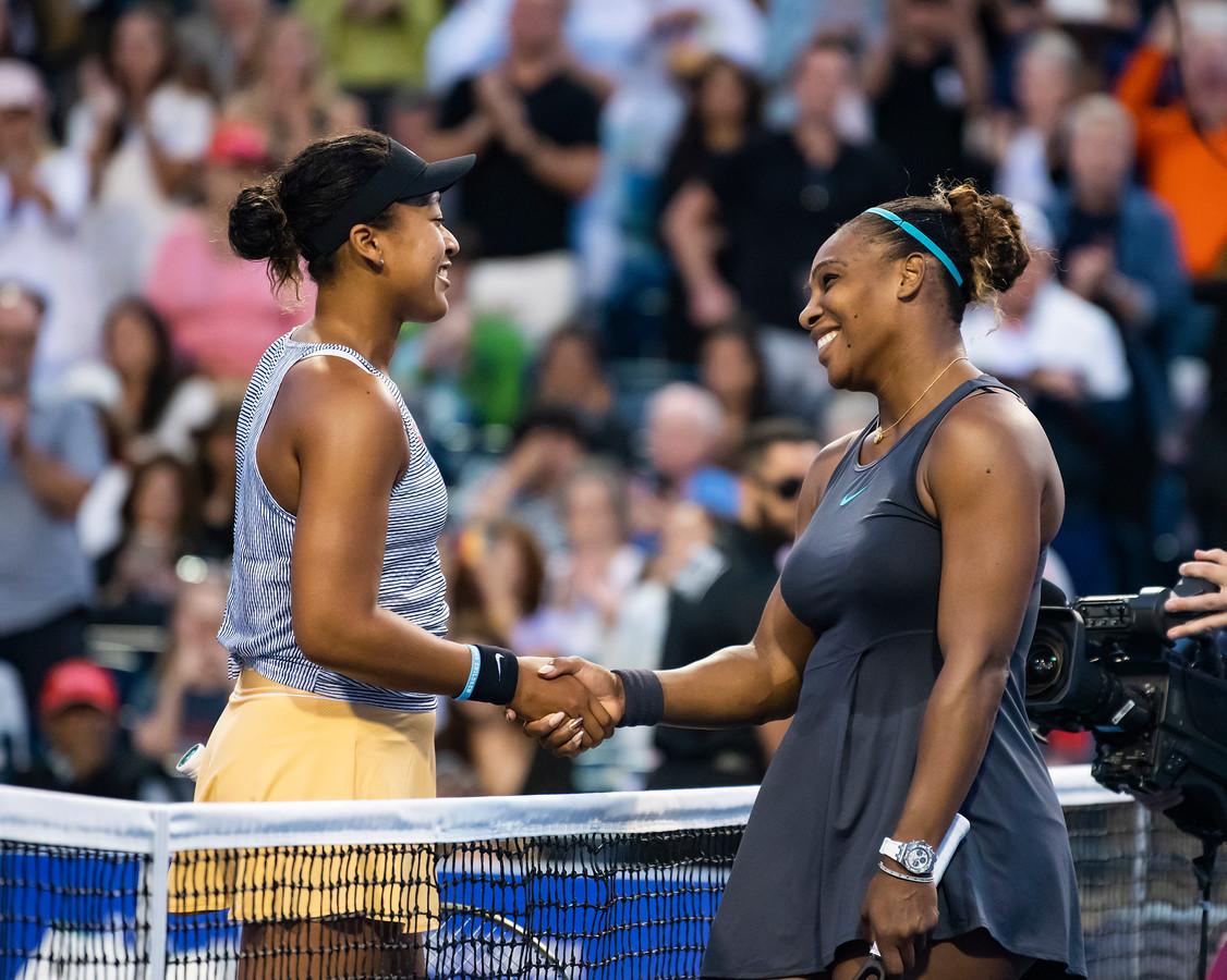 Naomi Osaka et Serena Williams