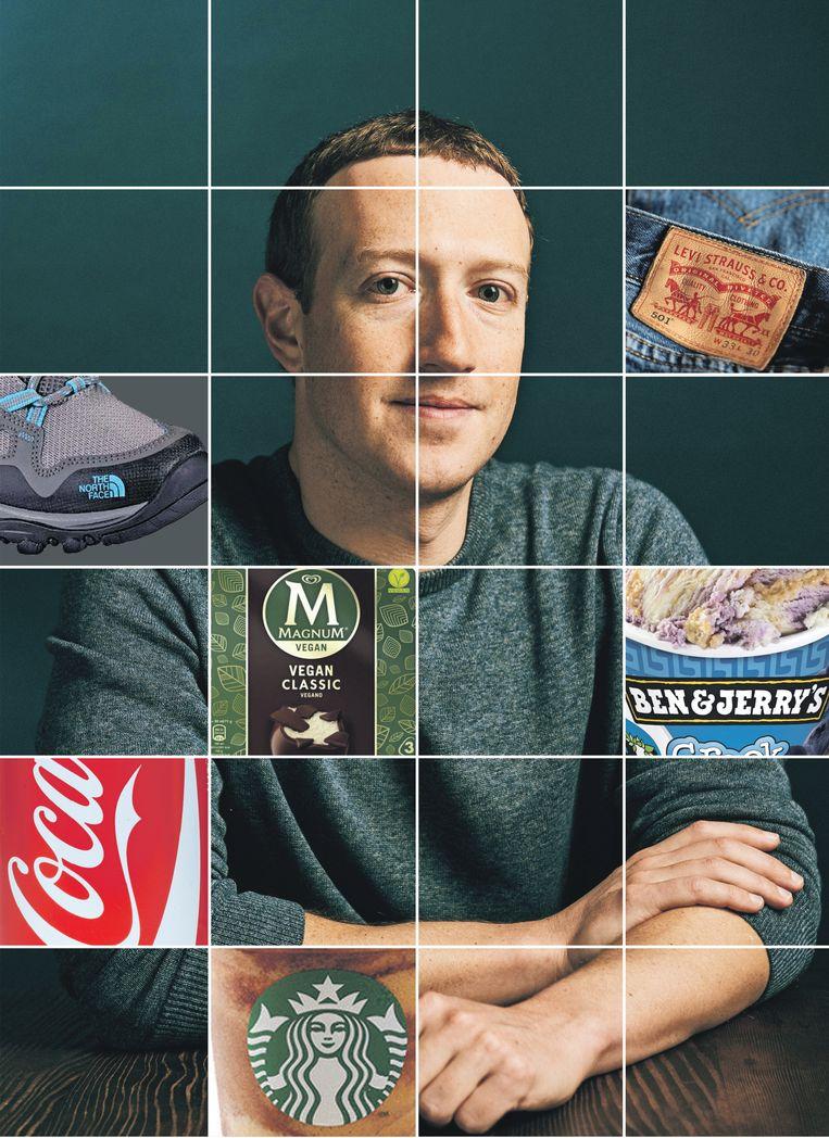 Mark Zuckerberg Beeld ANP, bewerking de Volkskrant