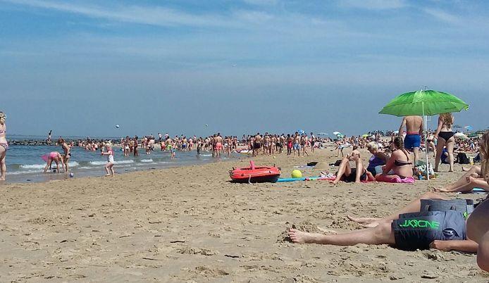 Het strandje bij Wemeldinge.
