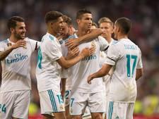 Ronaldo bijt met wondergoal van zich af in vriendschappelijk duel