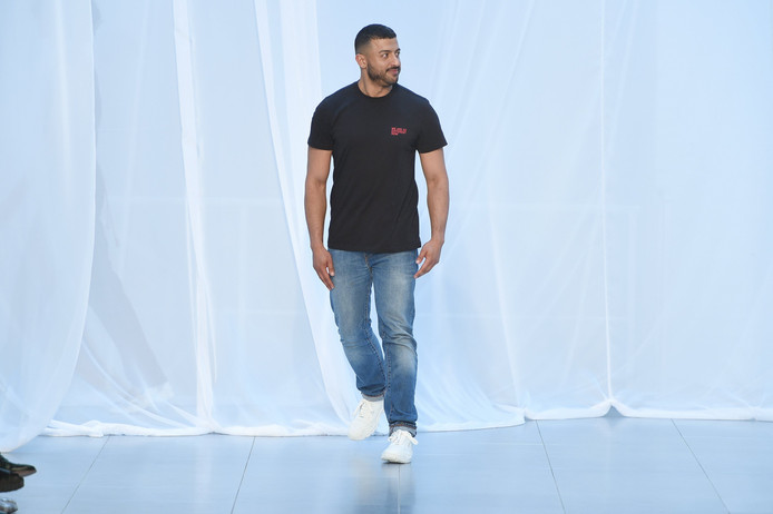 Qasimi maakte afgelopen maand nog zijn opwachting tijdens de Londense modeweek.