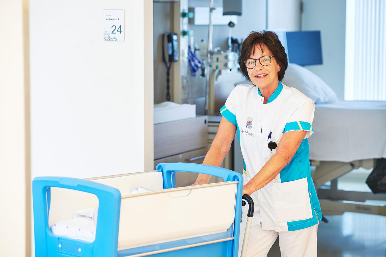 Verloskundige Marleen Korsten-Braak heeft op 24 juli haar laatste werkdag in ziekenhuis Bernhoven.