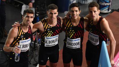 WK indoor: Belgian Tornados winnen reeks en plaatsen zich rechtstreeks voor 4x400 meter-finale