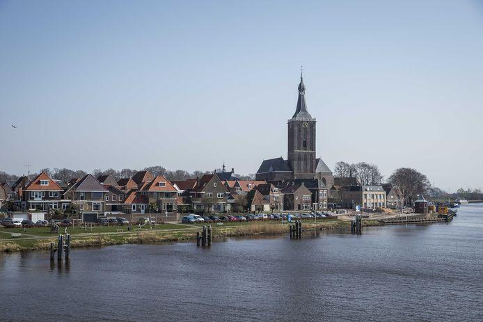Het centrum van Hasselt. De gemeenschap van de stad is zwaar getroffen door het coronavirus. Vijf patienten zijn inmiddels aan de gevolgen van de ziekte overleden en het aantal geregistreerde coronabesmettingen loopt verder op. ANP VINCENT JANNINK