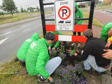 GroenLinks wil saaie stadspoorten fleuriger door bloemetjes