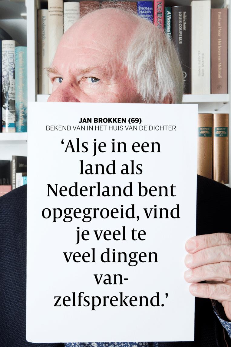 Jan Brokken. Beeld Eva Roefs