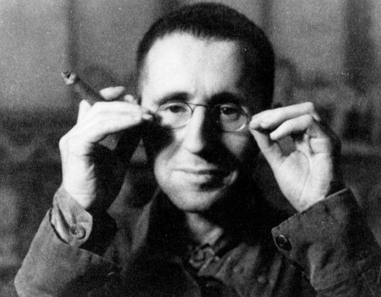 Archieffoto van Bertold Brecht. Foto GPD Beeld