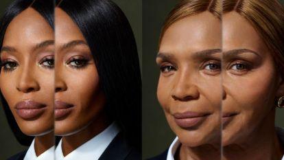 Zo moeder, zo dochter: Naomi Campbell poseert samen met mama voor Burberry