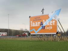 De 'blokkendozen' komen wel heel dicht bij Haps, dorpsraad wil dat het stopt
