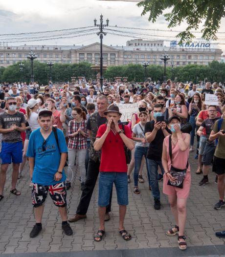 Verre Oosten van Rusland gaat de straat op tegen het Kremlin
