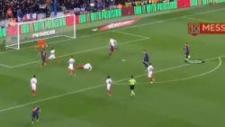 Lionel Messi benadert de vorm van z'n leven en dan mag Camp Nou één van zonder twijfel mooiste goals van het jaar bewonderen