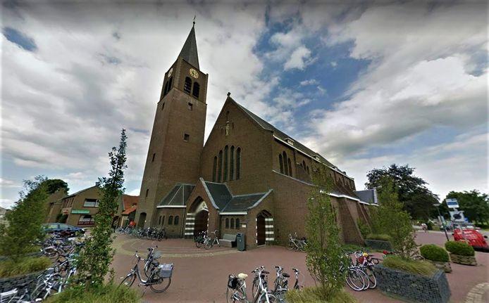 De kerk Heilige Maria Hemelvaart van Nispen.