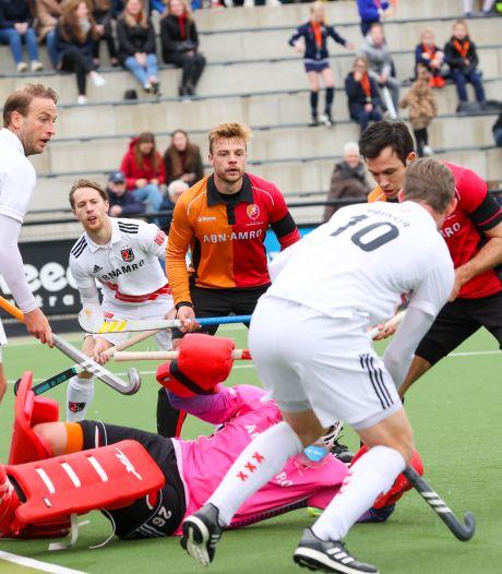 Mannen Oranje-Rood schieten niks op met gelijkspel tegen Amsterdam