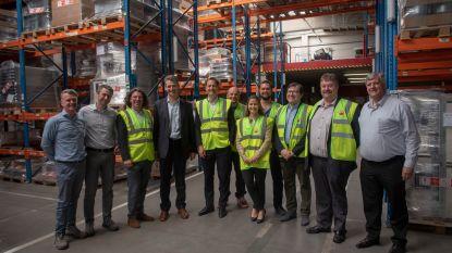 Vicepremier Alexander De Croo bezoekt Winnaar 'Factory of the Future' award