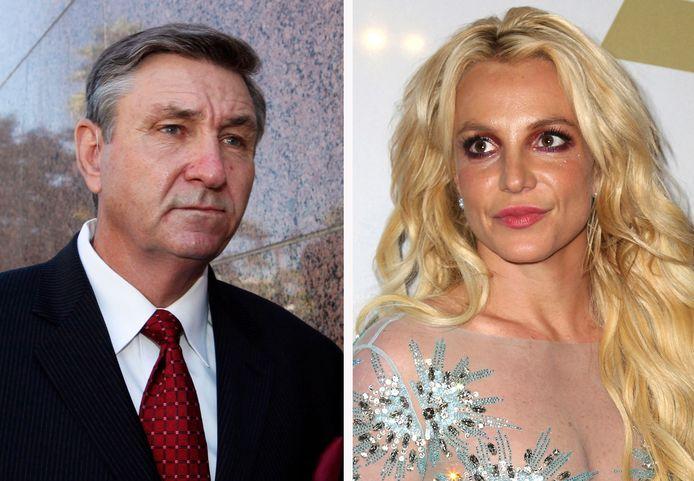 Jamie Spears en Britney Spears