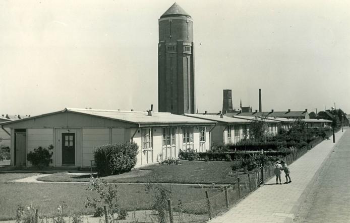 De in augustus 1947 opgeleverde maycrete-woningen waren 'bestand tegen hitte en kou', maar niet in de heetste zomer van 1947