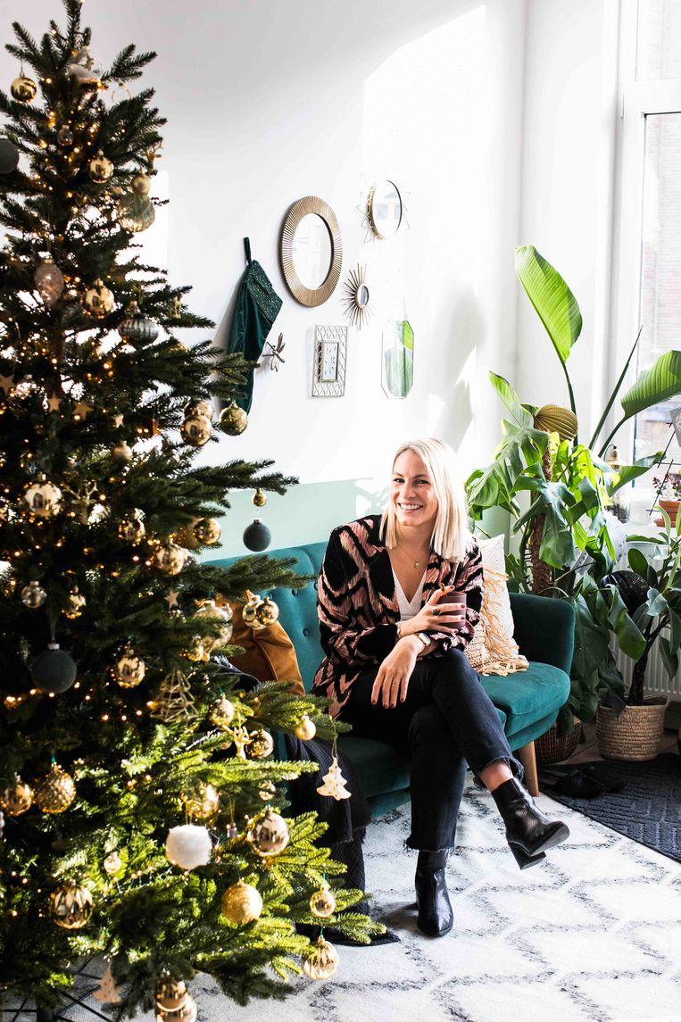 Kerstboom van interieurstyliste Anne-Catherine Gerets