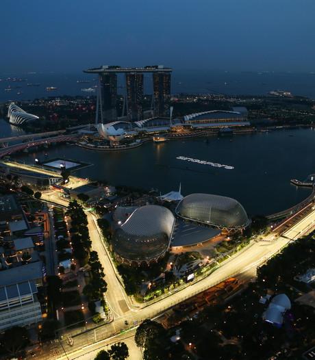 Grand Prix van Singapore komende vier jaar nog op het programma