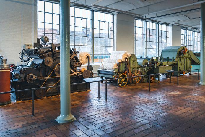 De nieuwe expo '100% Textiel' in het Industriemuseum.